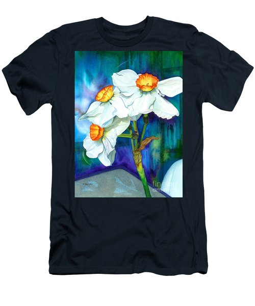 Petal Portrait Men's T-Shirt (Athletic Fit)