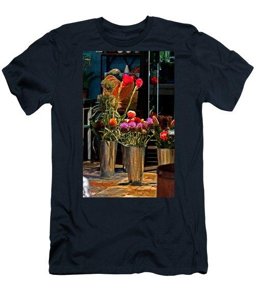 Phlower Vases Men's T-Shirt (Athletic Fit)