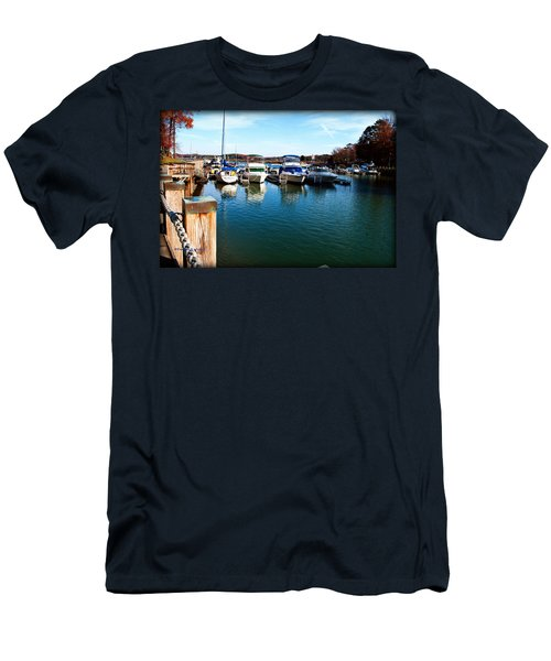 Pier Pressure - Lake Norman Men's T-Shirt (Athletic Fit)