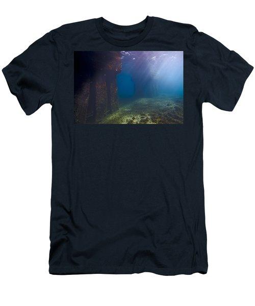 Pillars At Dawn Men's T-Shirt (Athletic Fit)