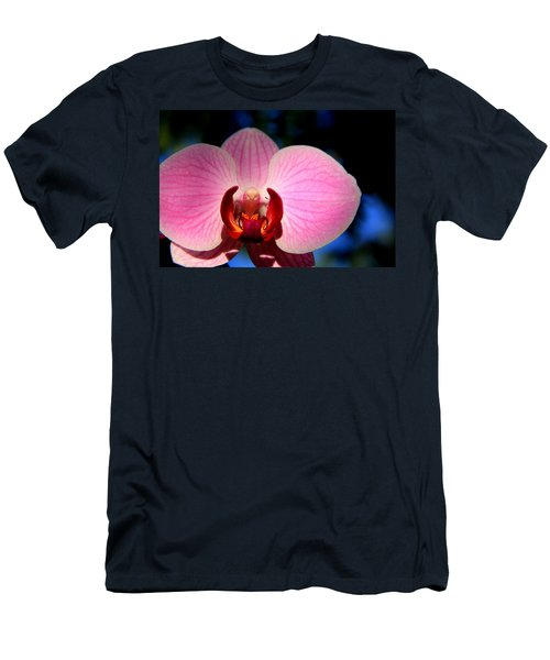 Men's T-Shirt (Slim Fit) featuring the photograph Pink House by Greg Allore