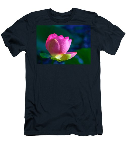 Pink Lily Men's T-Shirt (Athletic Fit)