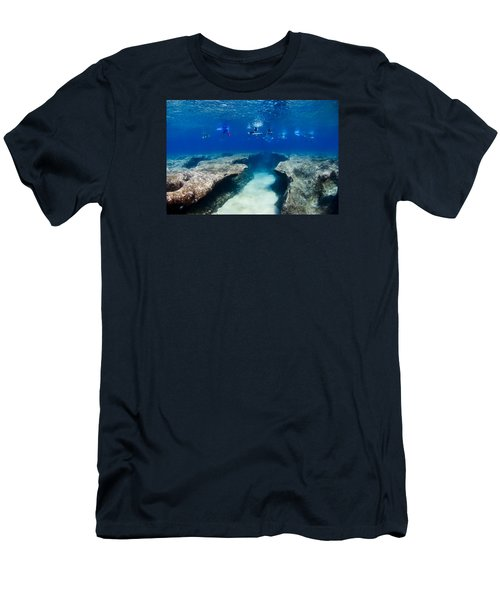 Pipeline's Hungry Reef Men's T-Shirt (Athletic Fit)