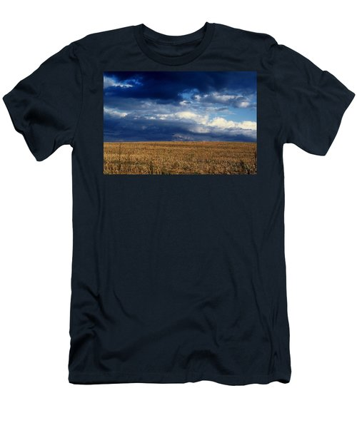 Men's T-Shirt (Slim Fit) featuring the photograph Plain Sky by Rodney Lee Williams