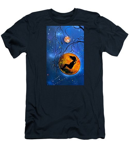 Planet Swing Men's T-Shirt (Athletic Fit)