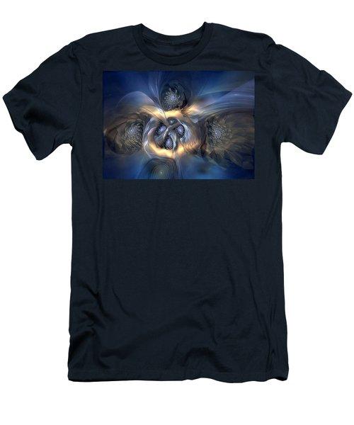 Men's T-Shirt (Slim Fit) featuring the digital art Pleasant Effusion by Casey Kotas