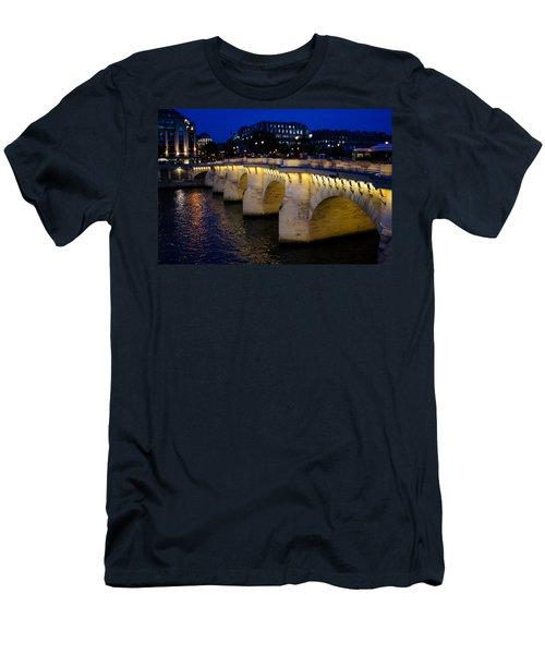 Pont Neuf Bridge - Paris - France Men's T-Shirt (Athletic Fit)