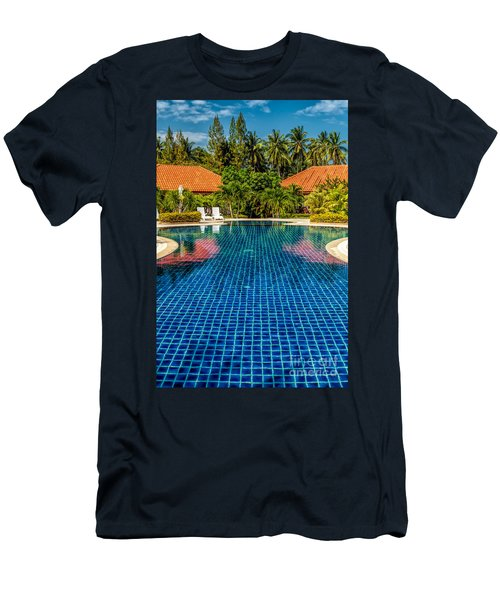Pool Time Men's T-Shirt (Athletic Fit)