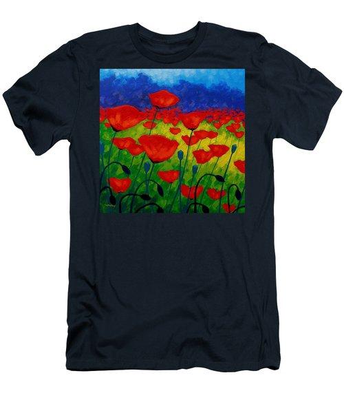 Poppy Corner II Men's T-Shirt (Athletic Fit)