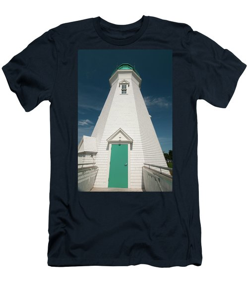 Port Dalhousie Lighthouse 9057 Men's T-Shirt (Athletic Fit)