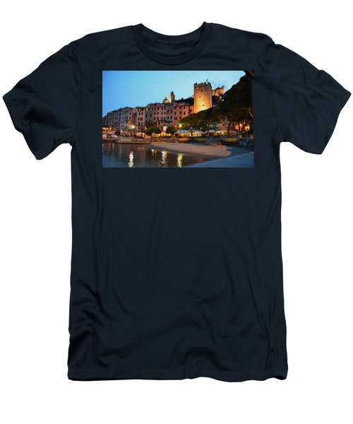 Portovenere At Night Men's T-Shirt (Athletic Fit)