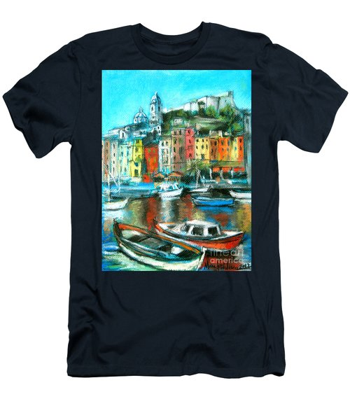 Portovenere Men's T-Shirt (Slim Fit)