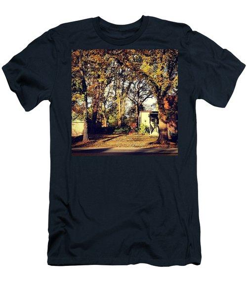 Portrait Of Autumn Men's T-Shirt (Athletic Fit)