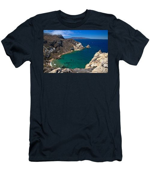 Potato Harbor Views Men's T-Shirt (Athletic Fit)