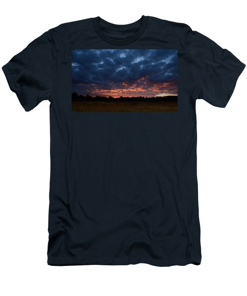 Prairie Sunrise Men's T-Shirt (Athletic Fit)