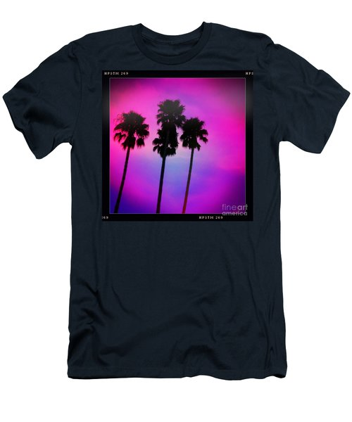 Psychedelic Palms Men's T-Shirt (Athletic Fit)