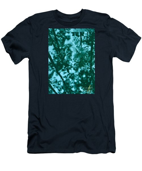 Puddle Of Pines Men's T-Shirt (Slim Fit) by Joy Hardee