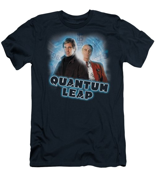 Quantum Leap - Sam And Al Men's T-Shirt (Athletic Fit)