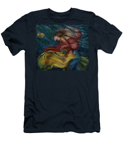 Queen Of The Angels Men's T-Shirt (Athletic Fit)