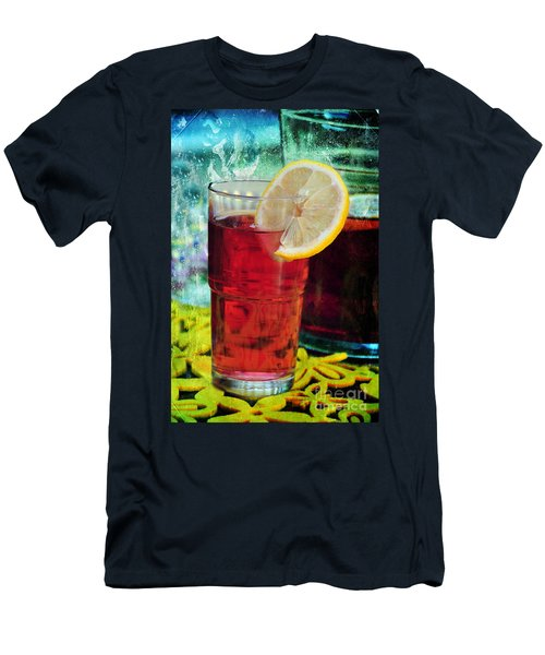 Quench My Thirst Men's T-Shirt (Slim Fit) by Randi Grace Nilsberg
