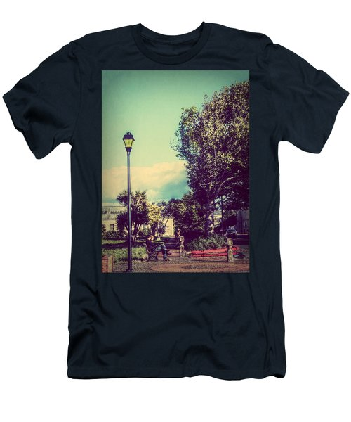 Men's T-Shirt (Slim Fit) featuring the photograph Quiet Reflections by Melanie Lankford Photography