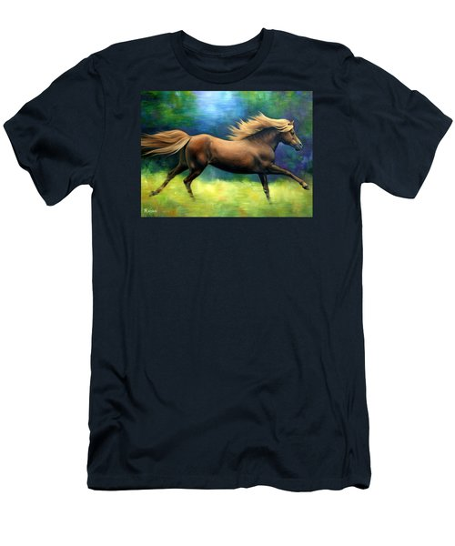 Racing  The Wind Men's T-Shirt (Athletic Fit)