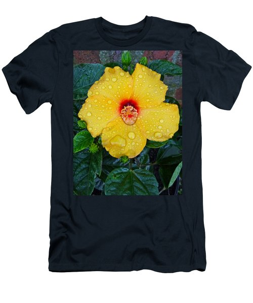 Raindrops Men's T-Shirt (Athletic Fit)