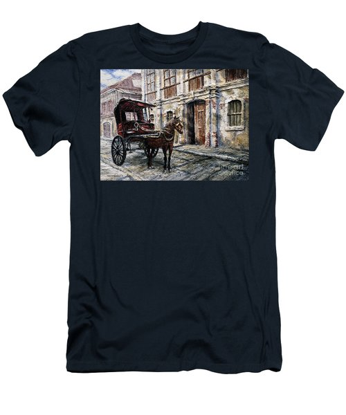 Red Carriage Men's T-Shirt (Athletic Fit)