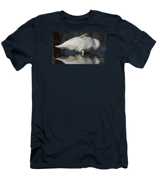Men's T-Shirt (Slim Fit) featuring the photograph Reflect by Randy Bodkins