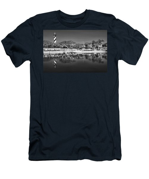Reflecting Lighthouse  Men's T-Shirt (Athletic Fit)