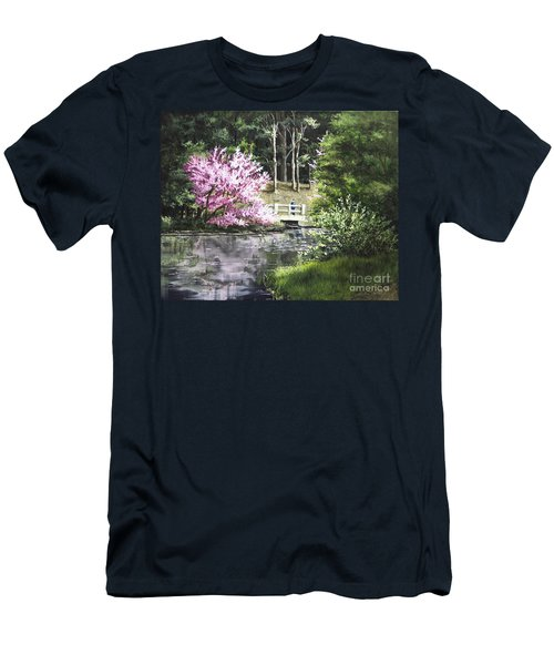 Reflections Of Spring Men's T-Shirt (Athletic Fit)