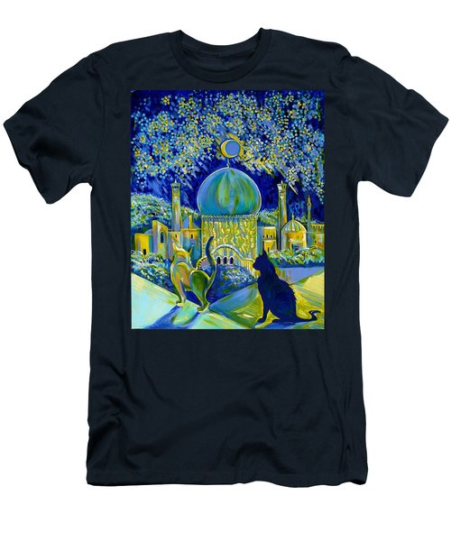 Reminiscences Of Asia. Bed Time Story Men's T-Shirt (Athletic Fit)