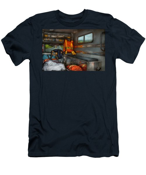 Rescue - Emergency Squad  Men's T-Shirt (Slim Fit) by Mike Savad