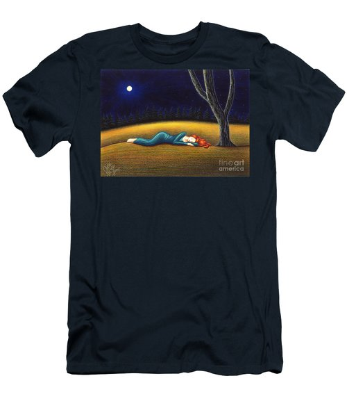Rest For A Weary Heart Men's T-Shirt (Slim Fit) by Danielle R T Haney