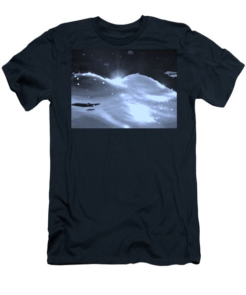 Moon Sunset Men's T-Shirt (Slim Fit) by Deborah Moen