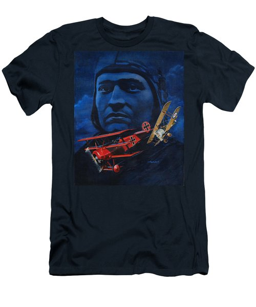 Richthofen And Brown Men's T-Shirt (Athletic Fit)