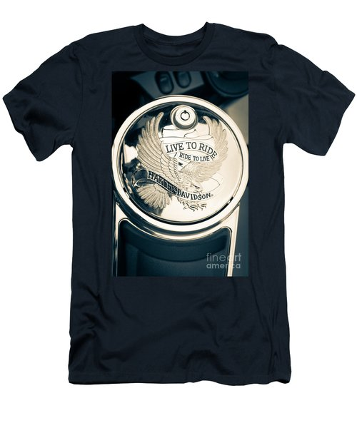 Ride To Live Men's T-Shirt (Athletic Fit)