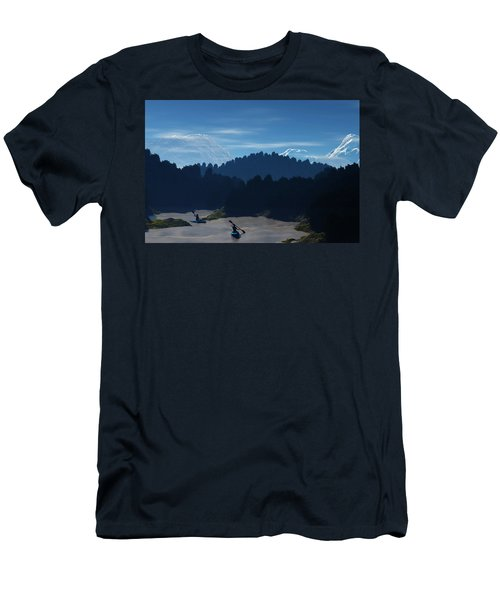 River Adventure Men's T-Shirt (Athletic Fit)