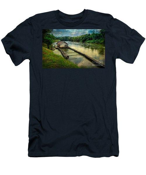 River Kwai Kanchanaburi  Men's T-Shirt (Athletic Fit)
