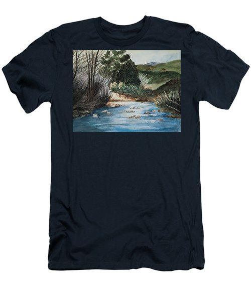 Riverscape Men's T-Shirt (Slim Fit) by Lee Beuther