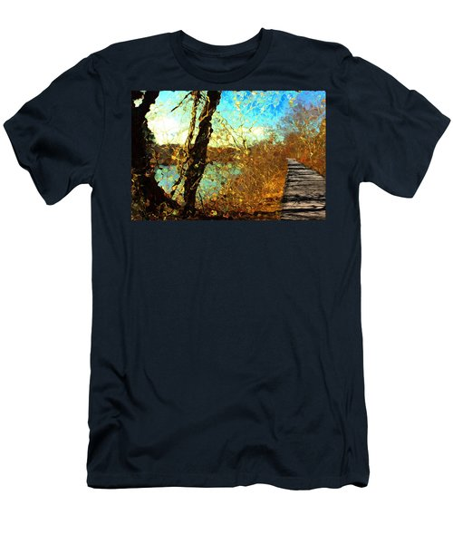 Riverwalk Men's T-Shirt (Athletic Fit)