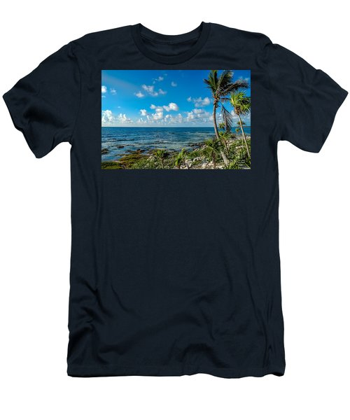 Cave Diving Country Men's T-Shirt (Athletic Fit)