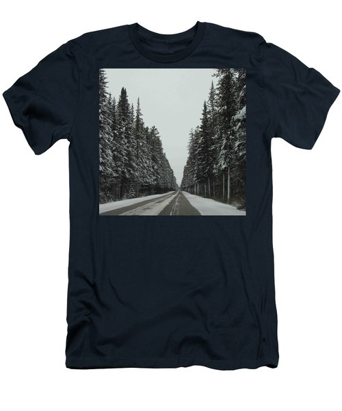 Road To Banff Men's T-Shirt (Athletic Fit)