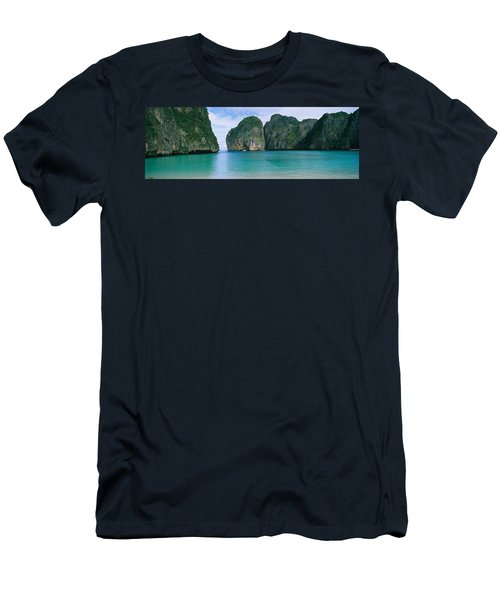 Rock Formations In The Ocean, Mahya Men's T-Shirt (Athletic Fit)