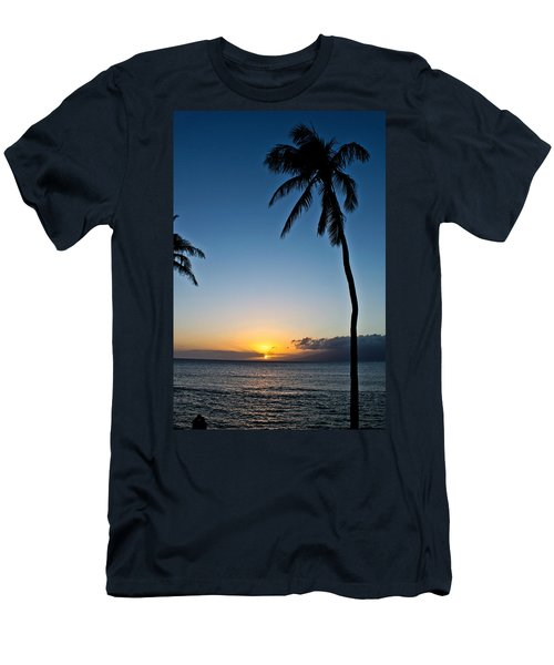 Romantic Maui Sunset Men's T-Shirt (Athletic Fit)