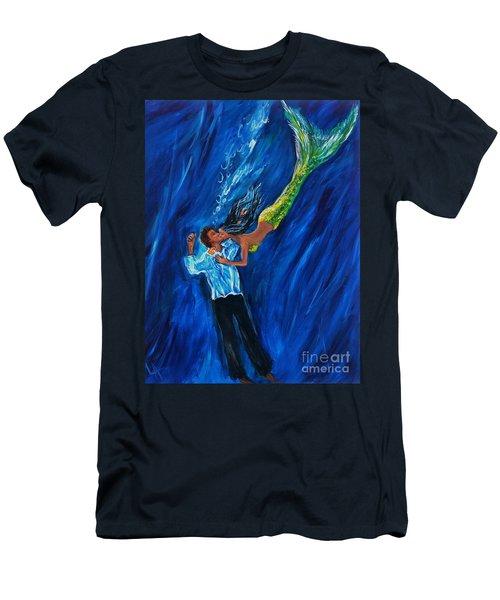 Romantic Rescue Men's T-Shirt (Athletic Fit)