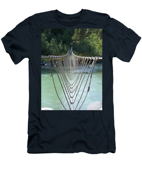 Rope Foot Bridge Men's T-Shirt (Athletic Fit)