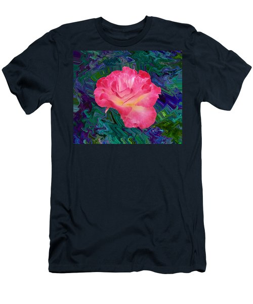 Rose In The Matter Of Your Hand V7 Men's T-Shirt (Athletic Fit)