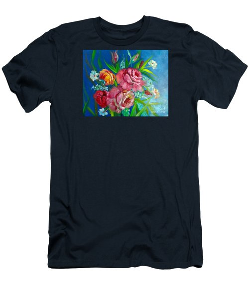 Roses Roses Jenny Lee Discount Men's T-Shirt (Athletic Fit)