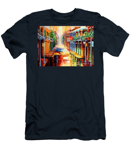 Royal Street Reflections Men's T-Shirt (Athletic Fit)
